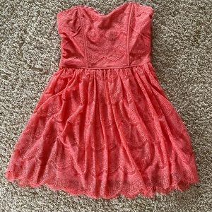 Forever 21 Coral Dress NWT